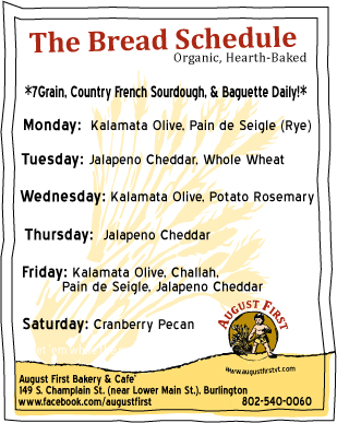 Breadschedule